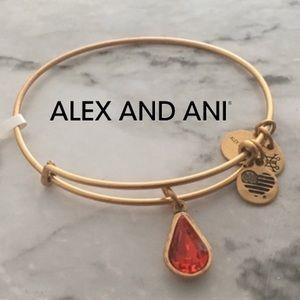🆕 Alex & Ani ❤️ July Swarovski Crystal Bangle